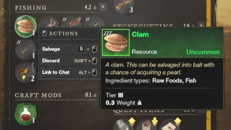 clam ноживка