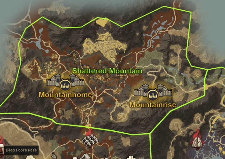 Shattered Mountain
